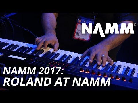 NAMM 2017: Roland at NAMM