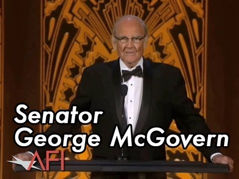 George McGovern Pays Tribute to Shirley MacLaine at the 40th AFI Life Achievment Award