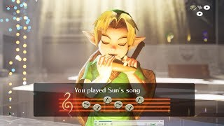 Unreal Engine 4 [4.21] Zelda Ocarina Of Time / Playing Ocarina ( All Songs )