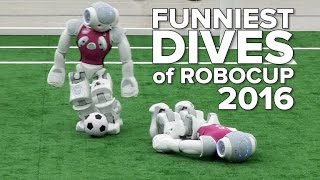 Funniest dives of RoboCup 2016