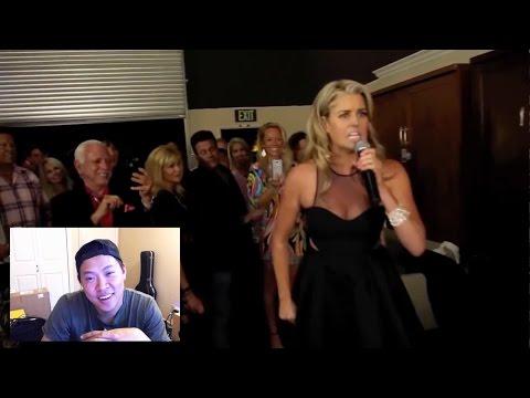 Asian Reacts to Jennifer Murphy singing I want to be Neenja