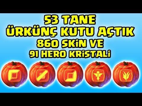 53 TANE YENİ ÜRKÜNÇ KUTU AÇTIK !!! 860 SKİN 91 ŞAMPİYON KRİSTALİ ??? | Apophis