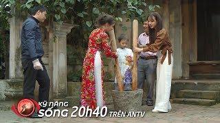Trẻ ngoại quốc trải nghiệm gói bánh chưng, giã bánh dày tại Phú Thọ (P2) | Kỹ năng sống [Số 26]