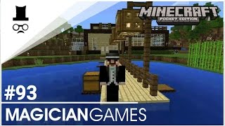 minecraft pe leťs play 93   pistonov dveře 3x3   magician   cz sk