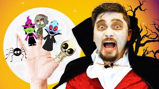 Halloween Finger Family Spanish Version and More Nursery Rhimes by CHU CHU UA
