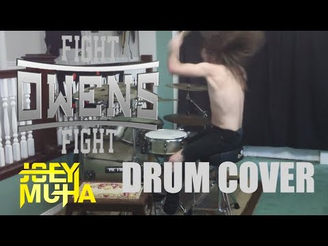 Kevin Owens FIGHT Metal Drumming - JOEY MUHA