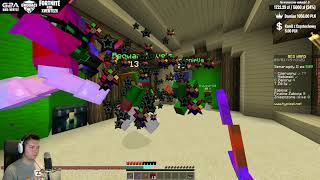Minecraft Bed Wars #12 - OSTRE DYMY! | Vertez