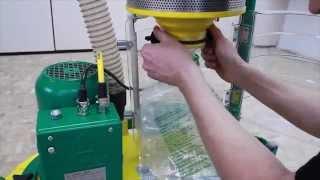 Трехдисковая шлифовальная машина Trio. Обзор профессионального оборудования для реставрации паркета.