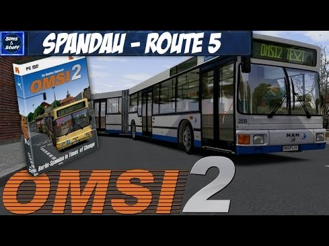 OMSI 2 - Berlin Spandau - Route 5 - 1080p