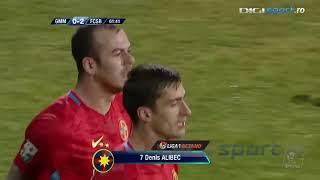 Gaz Metan vs FCSB | Denis Alibec majoreaza scorul pentru FCSB