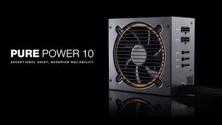 Pure Power 10 from be quiet! - Deutsch