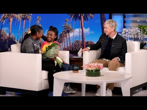 Viral College Gymnast Nia Dennis Receives a Heartwarming Surprise from Ellen