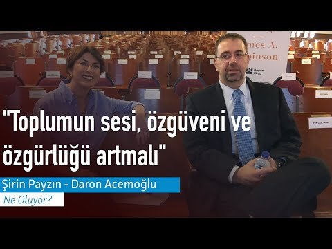 Prof. Daron Acemoğlu: Ekonomideki Kriz 1-2 Yıl Sürecek, üretkenlik Sıfır, Yapay çözümlerle Olmaz