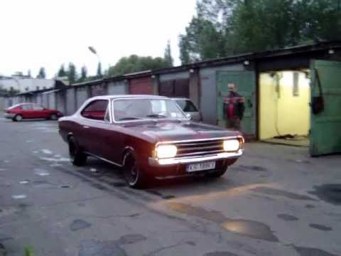 68 opel rekord c coupe first run youtube. Black Bedroom Furniture Sets. Home Design Ideas