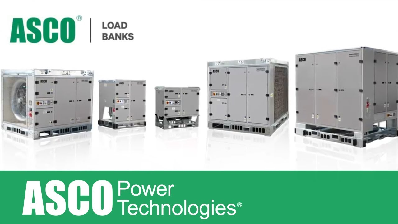 Diy Resistive Load Bank Asco Froment 3000 Series Load Banks
