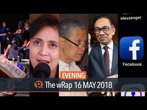 Robredo's SALN, Ombudsman application, Facebook closes fake accounts   Evening wRap