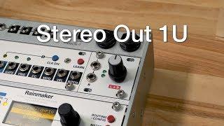 Stereo Line Out 1U