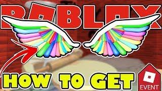 ROBLOX | Cách làm [EVENT] : Lấy cánh Rainbow Wings Of ImaGinaTion