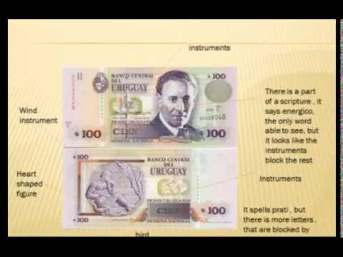Does Uruguayan money have masonic symbols?