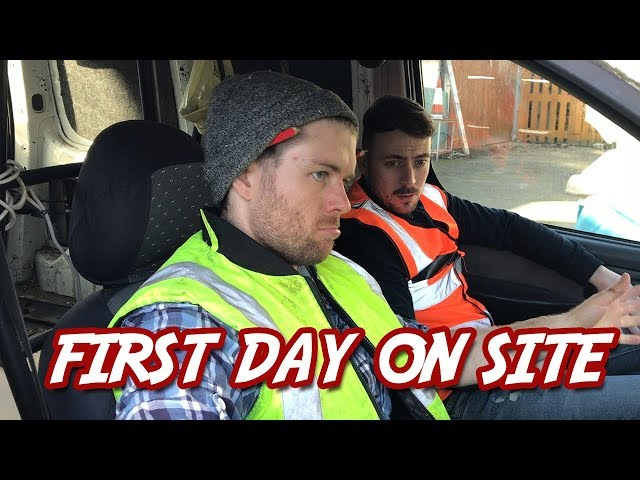 """First Day On Site"" 