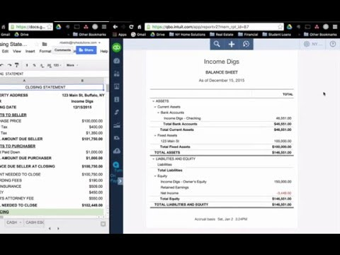 Real Estate Accounting - Purchase Property (Part 3)