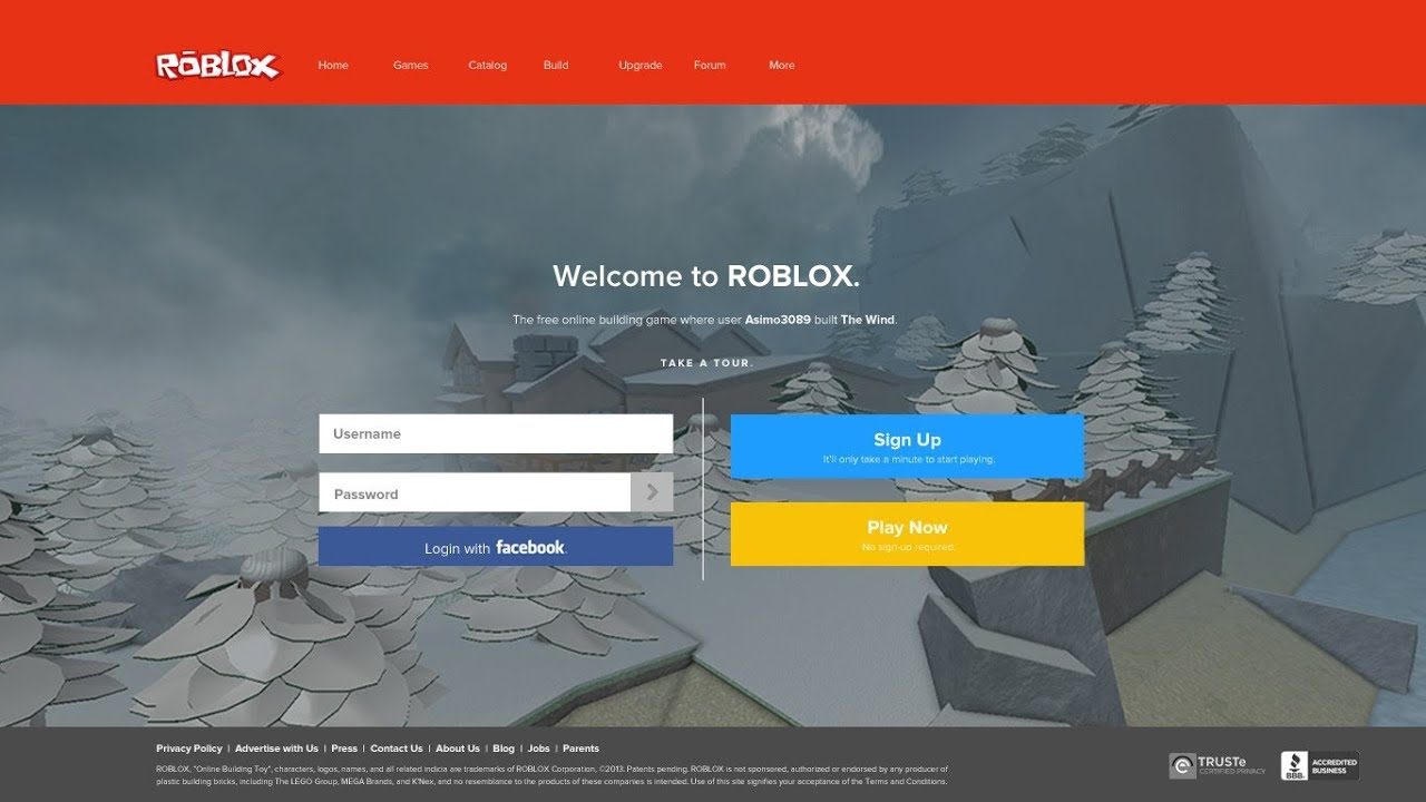 New Roblox Website Layout 2013 - YouTube