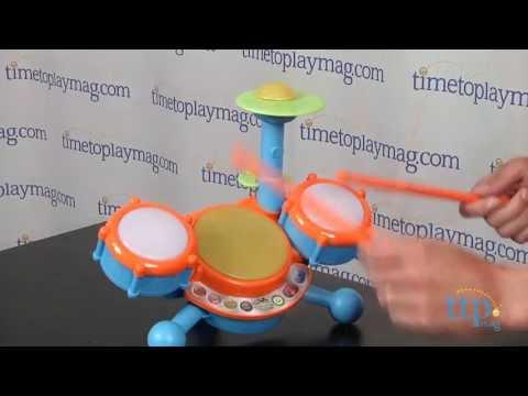 Kidibeats Drum Set From Vtech Youtube