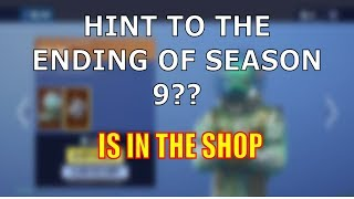 HINT TO THE ENDING OF SEASON 9?? FORTNITE SHOP MAY 27TH - New Skins, Emotes and MORE!!!