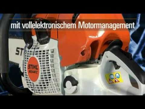 stihl ms 441 c m mit m tronic video oeni. Black Bedroom Furniture Sets. Home Design Ideas