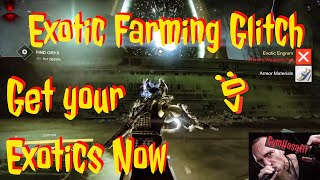 Destiny 1 Glitches 2017 : Exotic Engram Farm : Level up fast to 400