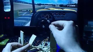 самый маленький в мире руль для компьютера))