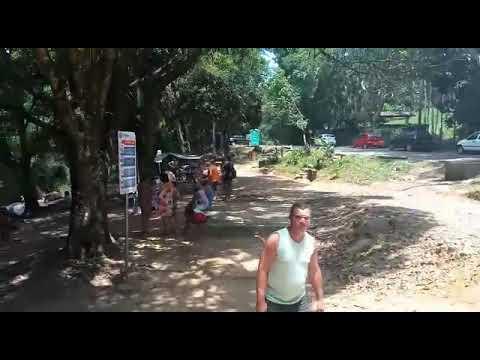 Três Cachoeiras, Penedo RJ - Visita do Índio Arabutã