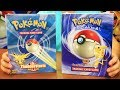 POKEMON TRADING CARD GAME STARTER GIFT BOX UNBOXING (1999)