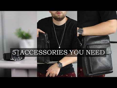 5 Fashion Accessories Every Guy Needs | Basic Men's Wardrobe Essentials Part 6