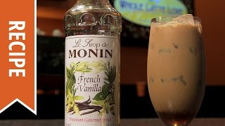 Monin French Vanilla Iced Latte: What's Brewing #21