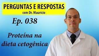 Proteínas na dieta cetogênica - Perguntas e Respostas com Dr Mauricio Ep