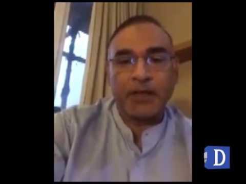 Aamir Sohail's video message for captain Sarfraz Ahmed