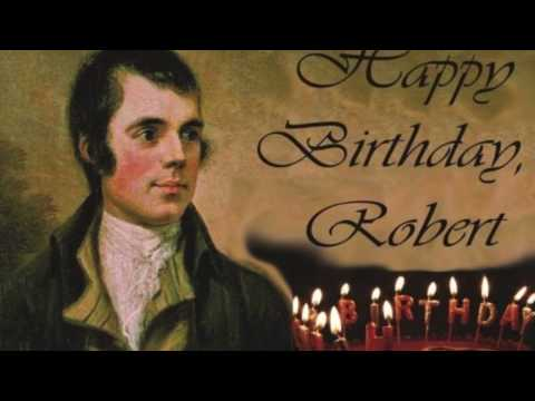 Happy 258th Birthday, Robert Burns