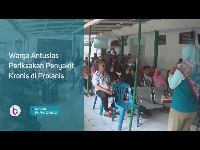 Warga Antusias Periksakan Penyakit Kronis di Prolanis
