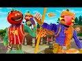 DURR BURGER VS TOMATO HEAD ULTIMATE FOOD FIGHT! - Fortnite Short Film