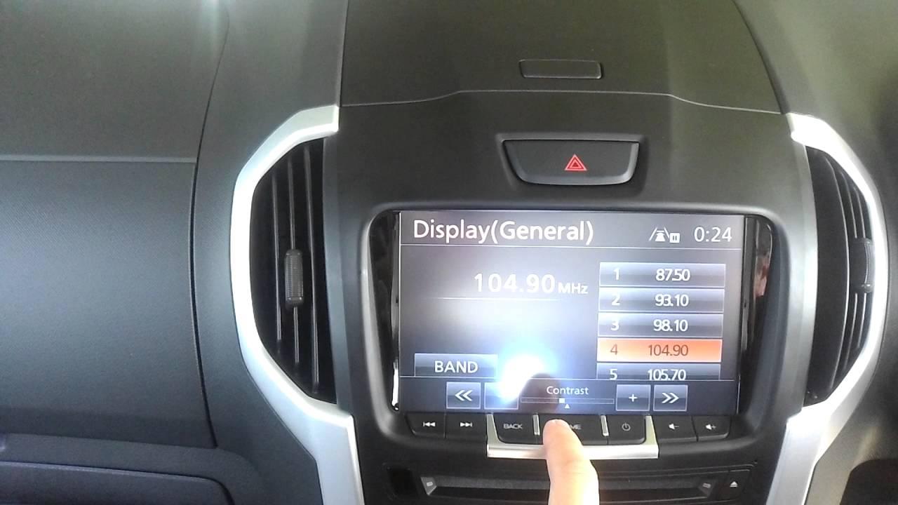 HiTV 2016 Isuzu D-MAX MU-X GPS Navigation upgrade - YouTube