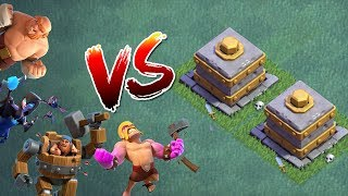 MAXED TRUPPEN vs DOPPEL ZERSCHMETTERER! || CLASH OF CLANS || Let's Play CoC [Deutsch German]