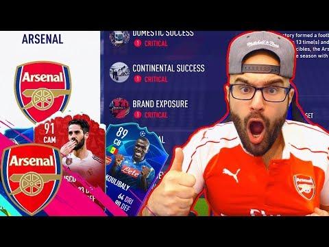 WOW!! REBULDING ARSENAL!! FIFA 19 CAREER MODE #01 thumbnail