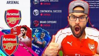 WOW!! REBULDING ARSENAL!! FIFA 19 CAREER MODE #01