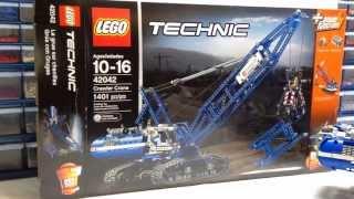 LEGO Technic Crawler Crane Review, Set 42042