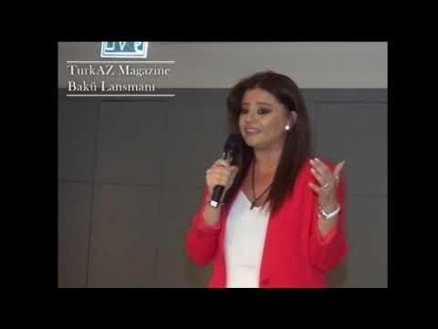 TurkAz Magazine Lansmanı Azerbaycan'ı Salladı