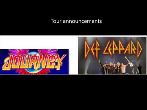 DEF LEPPARD and JOURNEY tour is official - Hatebreed/Crowbar/Acacia Strain tour..!