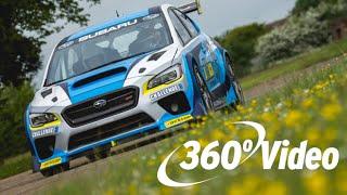 Ride INSIDE the Subaru Isle of Man Time Attack Car (360 video) thumbnail