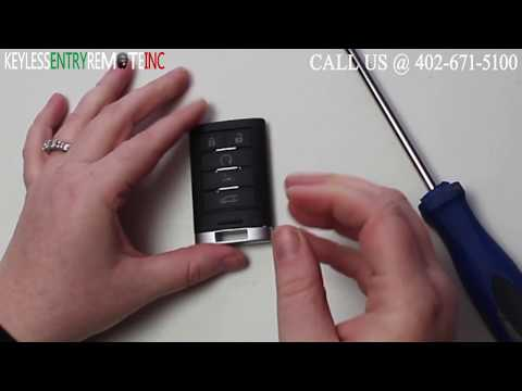 How To Replace A  2013 – 2014 Cadillac ATS Key Fob Battery FCCID: NBG009768T