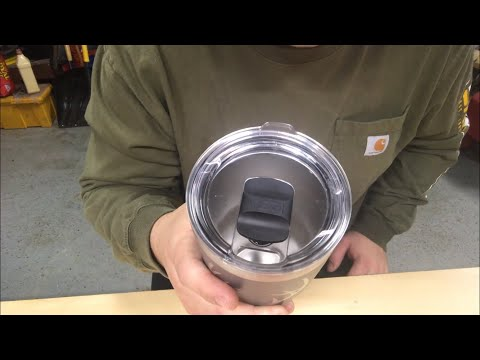 MUST DO THIS!! Cleaning Yeti Magslider cup lid. Keep your Yeti lids and gaskets clean!